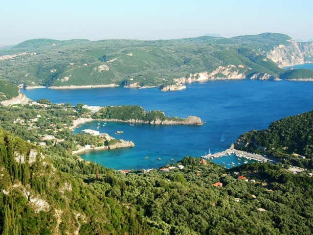 Panorama of Corfu